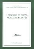 Tinta Knyvkiad: Lexikális jelentés, aktuális jelentés