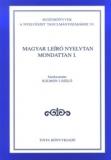 Tinta Knyvkiad: Magyar leíró nyelvtan