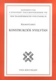 Tinta Knyvkiad: Konstrukciós nyelvtan