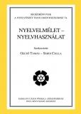 Tinta Knyvkiad: Nyelvelmélet - nyelvhasználat