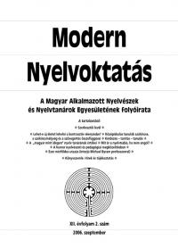Szépe György: Modern Nyelvoktatás 2006. 2. szám