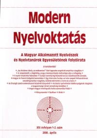 Szépe György: Modern Nyelvoktatás 2008. 1-2. szám