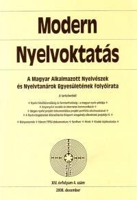 Szépe György: Modern Nyelvoktatás 2008. 4. szám