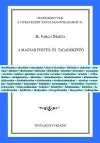 H. Varga Márta: A magyar fosztó- és tagadóképző