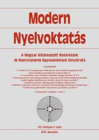 Szépe György: Modern Nyelvoktatás 2010. 4. szám