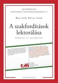 Horváth Péter Iván: A szakfordítások lektorálása