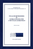 Tinta Knyvkiad: Fogalmi rendszerek és lexikai hálózatok a mentális lexikonban
