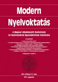 Szépe György: Modern Nyelvoktatás 2011. 2-3. szám