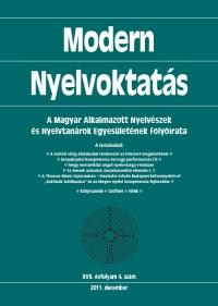 Szépe György: Modern Nyelvoktatás 2011. 4. szám