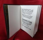 Tinta Knyvkiad: Nomenclatura sex linguarum, azaz hatnyelvű szótár,  Bécs, 1538 - díszkiadás