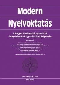 Medgyes Péter: Modern Nyelvoktatás 2012. 1-2. szám