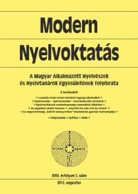 Medgyes Péter: Modern Nyelvoktatás 2012. 3. szám