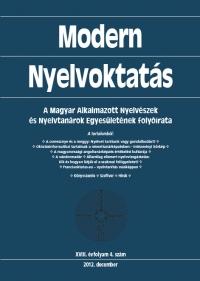 Medgyes Péter: Modern Nyelvoktatás 2012. 4. szám