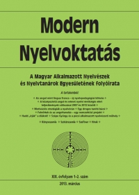 Medgyes Péter: Modern Nyelvoktatás 2013. 1-2. szám