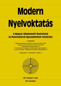 Medgyes Péter: Modern Nyelvoktatás 2013. 4. szám