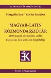 Tinta Knyvkiad: Magyar-latin közmondásszótár