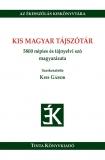 Tinta Knyvkiad: Kis magyar tájszótár
