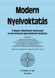 Tinta Knyvkiad: Modern Nyelvoktatás 2014. 1-2. szám