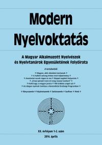 Medgyes Péter: Modern Nyelvoktatás 2014. 1-2. szám
