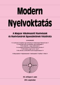 Medgyes Péter: Modern Nyelvoktatás 2014. 3. szám