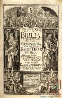 Káldi György: Szent Biblia