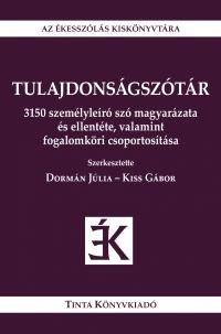 Dormán Júlia, Kiss Gábor: Tulajdonságszótár
