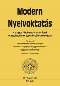 Dróth Júlia: Modern Nyelvoktatás 2015. 1. szám