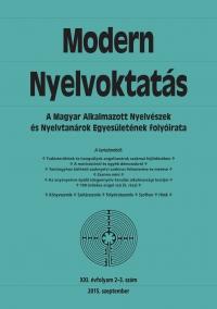 Dróth Júlia: Modern Nyelvoktatás 2015. 2-3. szám