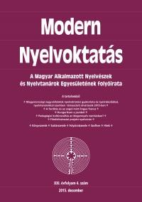 Dróth Júlia: Modern Nyelvoktatás 2015. 4. szám