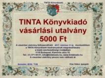 Tinta Knyvkiad: TINTA Könyvkiadó vásárlási utalvány