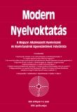Tinta Knyvkiad: Modern Nyelvoktatás 2016. 1-2.