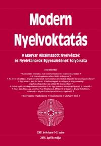 Dróth Júlia: Modern Nyelvoktatás 2016. 1-2.