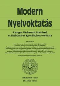 Dróth Júlia: Modern Nyelvoktatás 2017. 1. szám