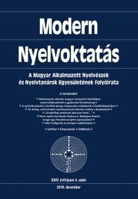 Nádor Orsolya: Modern Nyelvoktatás 2018. 4. szám