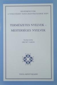 Gecső Tamás: Természetes nyelvek - mesterséges nyelvek