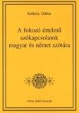 Tinta Knyvkiad: A fokozó értelmű szókapcsolatok magyar és német szótára