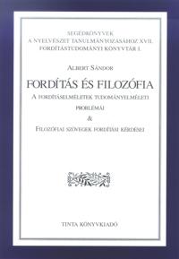 Albert Sándor: Fordítás és filozófia