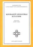 Tinta Knyvkiad: Kontrasztív szemantikai kutatások
